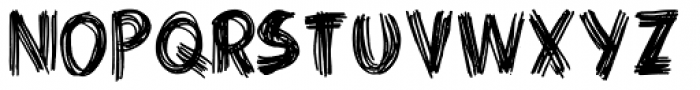 Criss Cross Font LOWERCASE