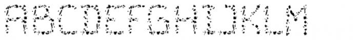 Cristal Crumble Regular Font UPPERCASE