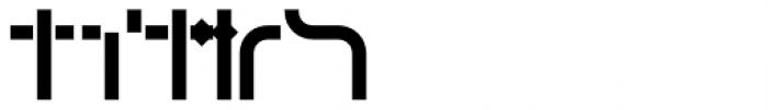 Cristal Frames Solid Font UPPERCASE