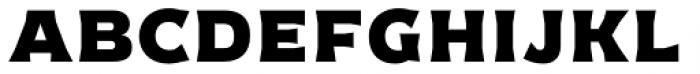 Cristal Solid Font UPPERCASE