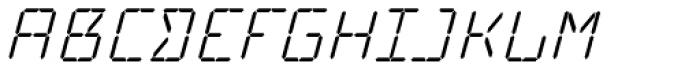 Cristal Text Italic Font UPPERCASE