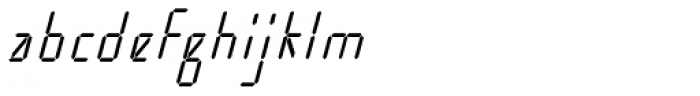 Cristal Text Italic Font LOWERCASE