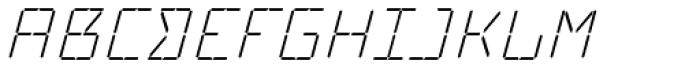 Cristal Text Light Italic Font UPPERCASE