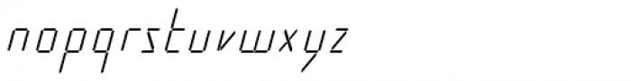 Cristal Text Light Italic Font LOWERCASE