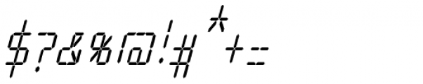 Cristal Text Medium Italic Font OTHER CHARS