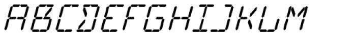 Cristal Text Medium Italic Font UPPERCASE