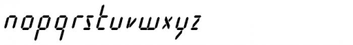Cristal Text Medium Italic Font LOWERCASE