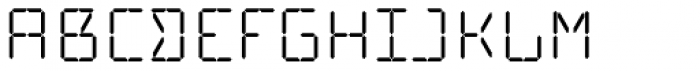 Cristal Text Regular Font UPPERCASE