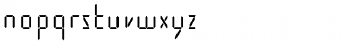 Cristal Text Regular Font LOWERCASE