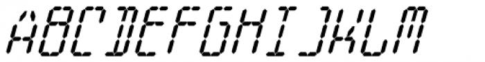 Cristal True Bold Italic Font UPPERCASE
