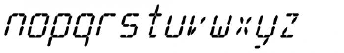 Cristal True Bold Italic Font LOWERCASE