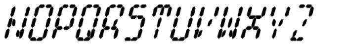 Cristal True Extra Bold Italic Font UPPERCASE