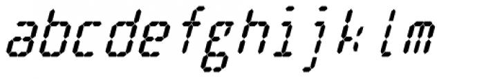Cristal True Extra Bold Italic Font LOWERCASE