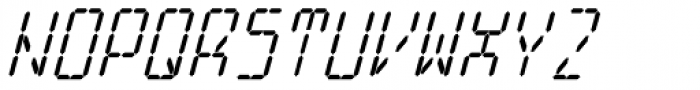Cristal True Medium Italic Font UPPERCASE