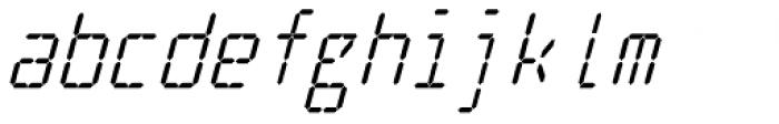 Cristal True Medium Italic Font LOWERCASE