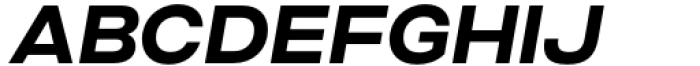 Criteria CF Bold Oblique Font UPPERCASE