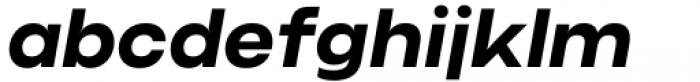 Criteria CF Bold Oblique Font LOWERCASE