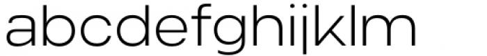 Criteria CF Extra Light Font LOWERCASE