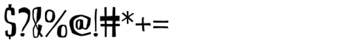 CroMagnon Font OTHER CHARS