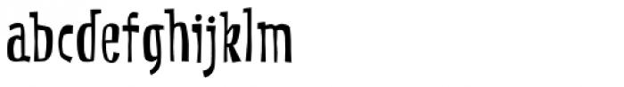 CroMagnon Font LOWERCASE