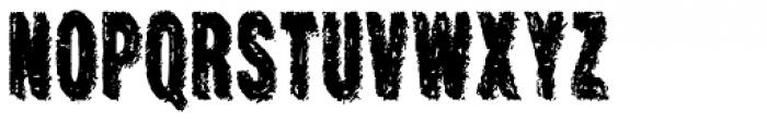 Crockstomp Condensed Font UPPERCASE