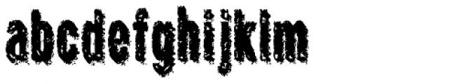 Crockstomp Condensed Font LOWERCASE