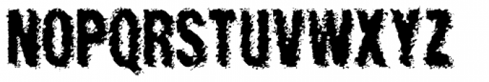Crockstomp Frosted Font UPPERCASE