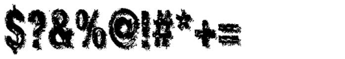 Crockstomp Std Font OTHER CHARS
