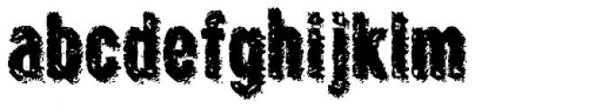 Crockstomp Std Font LOWERCASE