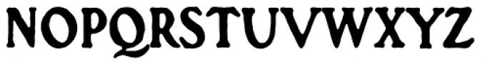Croft Font UPPERCASE