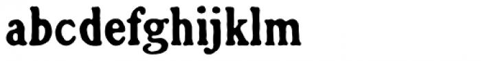 Croft Font LOWERCASE