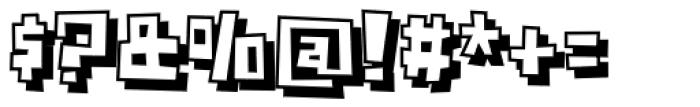 Crognita 3 D Font OTHER CHARS