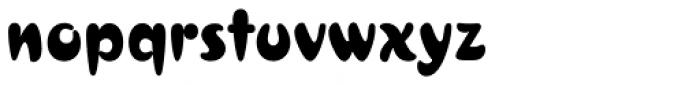 Croissant Std Regular Font LOWERCASE