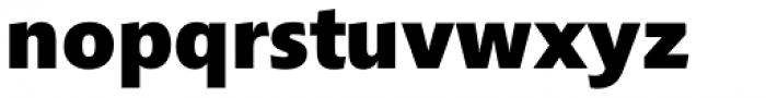 Croma Sans Extra Bold Font LOWERCASE