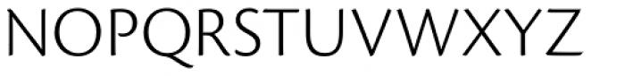 Cronos Pro Caption Light Font UPPERCASE