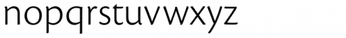 Cronos Pro Caption Light Font LOWERCASE