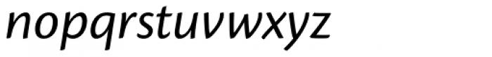 Cronos Pro Italic Font LOWERCASE