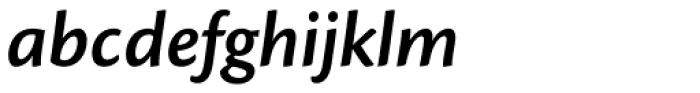 Cronos Pro SemiBold Italic Font LOWERCASE