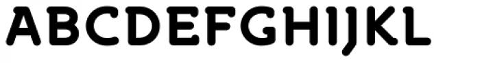 Croog Bold Font UPPERCASE