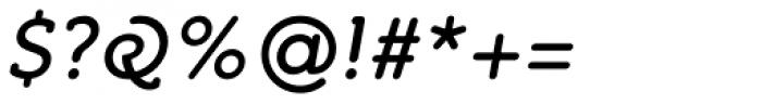 Croog Italic Font OTHER CHARS