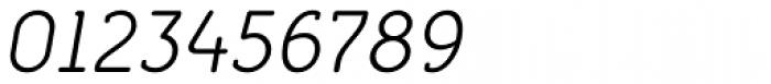 Croog Light Italic Font OTHER CHARS