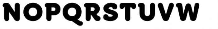 Croog Pro Black Font UPPERCASE