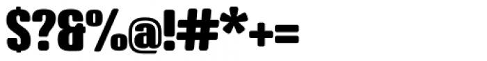 Crossfit Black Font OTHER CHARS