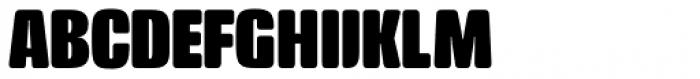 Crossfit Heavy Font UPPERCASE