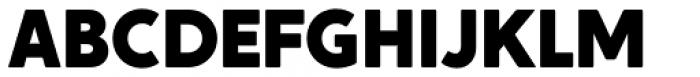 Crossten Black Font UPPERCASE