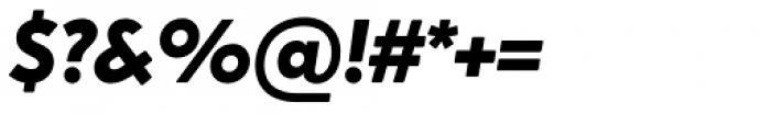 Crossten Extrabold Italic Font OTHER CHARS