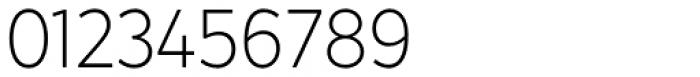 Crossten Extralight Font OTHER CHARS