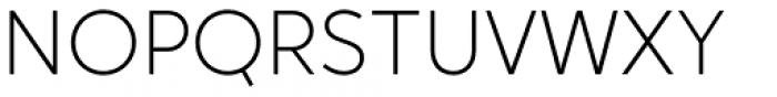 Crossten Extralight Font UPPERCASE