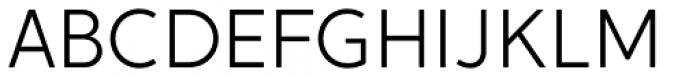 Crossten Light Font UPPERCASE