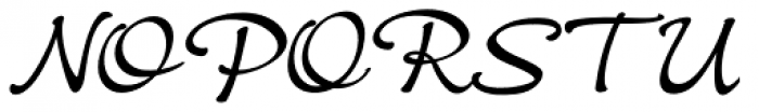 Crostini Font UPPERCASE